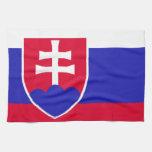 Bandera de Eslovaquia Toallas