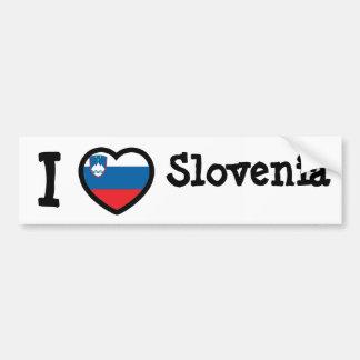 Bandera de Eslovenia Etiqueta De Parachoque