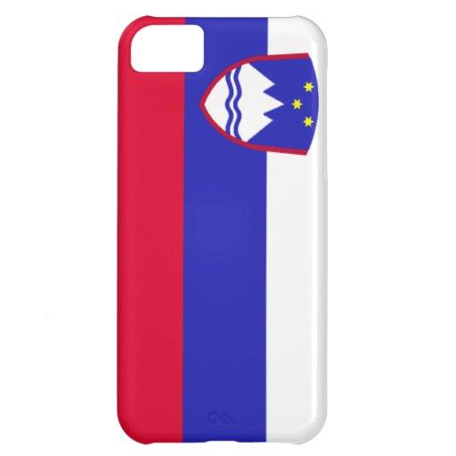 Bandera de Eslovenia Funda Para iPhone 5C