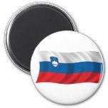 Bandera de Eslovenia Imán De Nevera