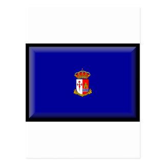 Bandera de España Aranjuez Postal