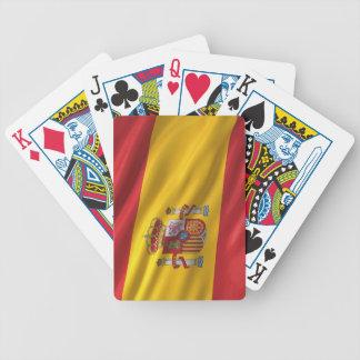 Bandera de España Baraja De Cartas