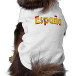 Bandera de España Camiseta De Mascota