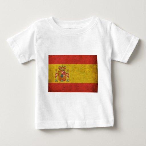 Bandera de España del vintage Tshirt