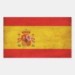 Bandera de España Etiqueta