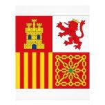 Bandera de España Flyer A Todo Color