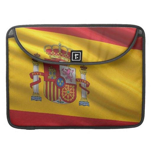 Bandera de España Funda Para Macbooks