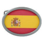 Bandera de España Hebilla De Cinturón Oval