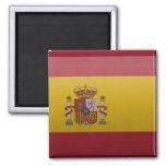 Bandera de España Imán Cuadrado