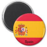 Bandera de España Iman Para Frigorífico