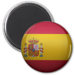 Bandera de España Imán Redondo 5 Cm