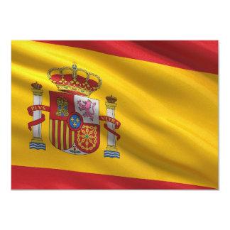 Bandera de España Invitaciones Personalizada