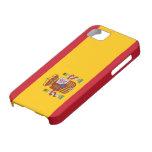 Bandera de España iPhone 5 Case-Mate Cárcasa