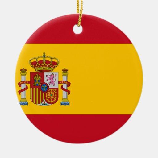 Bandera de España Ornamentos Para Reyes Magos