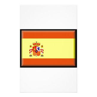 Bandera de España Papelería Personalizada