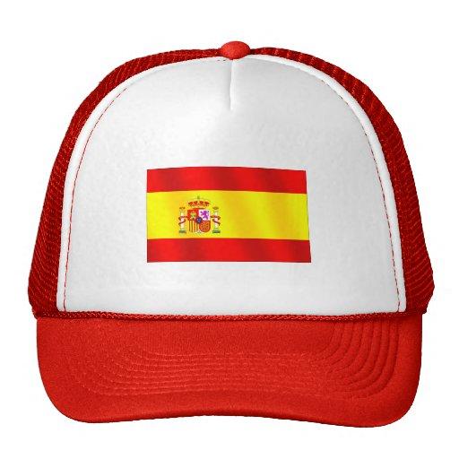 Bandera de España para los españoles por todo el m Gorros Bordados