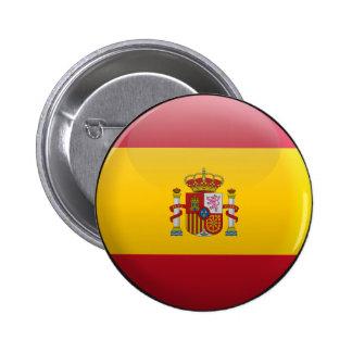 Bandera de España Pin Redondo 5 Cm