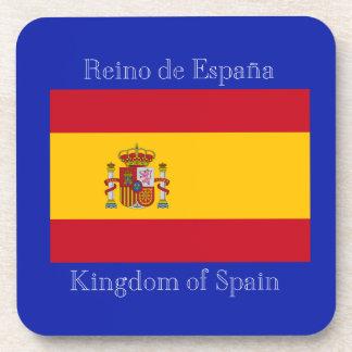 Bandera de España Posavasos De Bebida