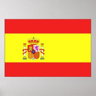 Bandera de España Póster