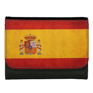 Bandera de España - Retro Grunge Flag of Spain Wallet