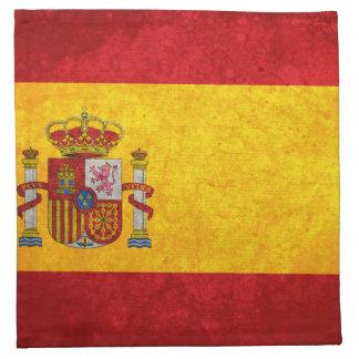 Bandera de España; Servilletas De Papel