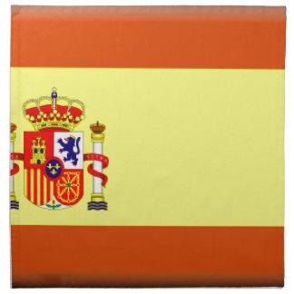 Bandera de España Servilletas Imprimidas