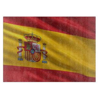 Bandera de España Tablas Para Cortar