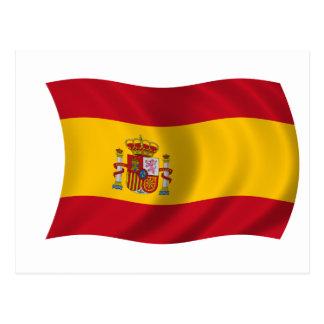 Bandera de España Postales