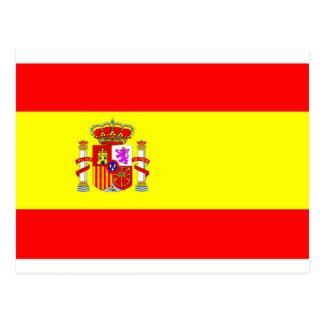 Bandera de España Tarjeta Postal