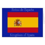 Bandera de España Tarjeton
