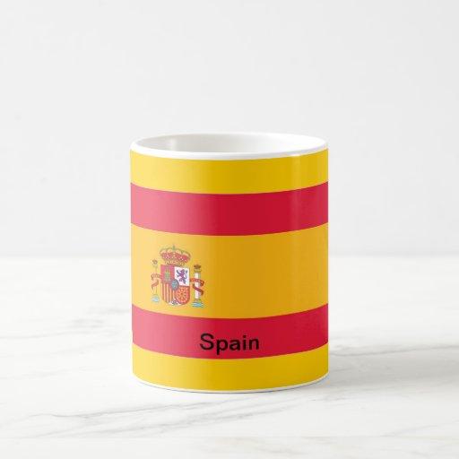 Bandera de España Taza Clásica