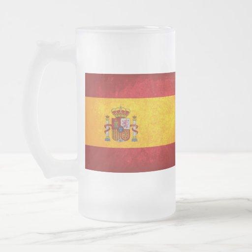 Bandera de España; Taza De Café