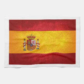 Bandera de España; Toallas