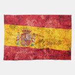Bandera de España Toallas De Cocina