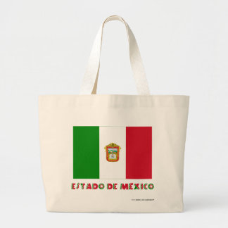 Bandera de Estado de México Unofficial Bolsa Lienzo