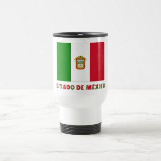 Bandera de Estado de México Unofficial Taza De Viaje De Acero Inoxidable