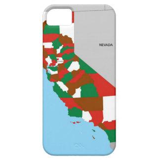 bandera de Estados Unidos América del mapa de la iPhone 5 Cárcasas