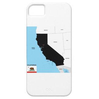 bandera de Estados Unidos América del mapa de la iPhone 5 Fundas