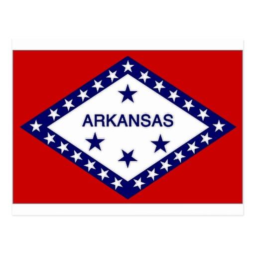 Bandera de Estados Unidos Arkansas Postales