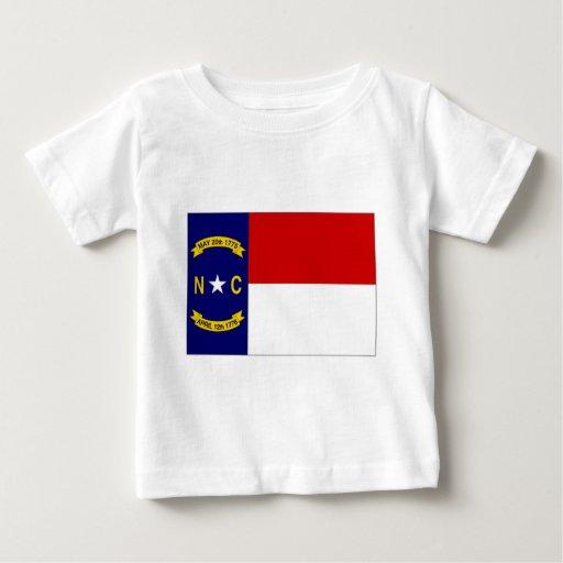 Bandera de Estados Unidos Carolina del Norte Playera