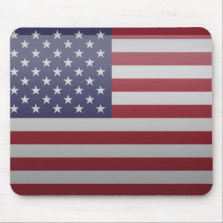 Bandera de Estados Unidos de América Tapetes De Ratón
