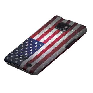Bandera de Estados Unidos Galaxy S2 Fundas