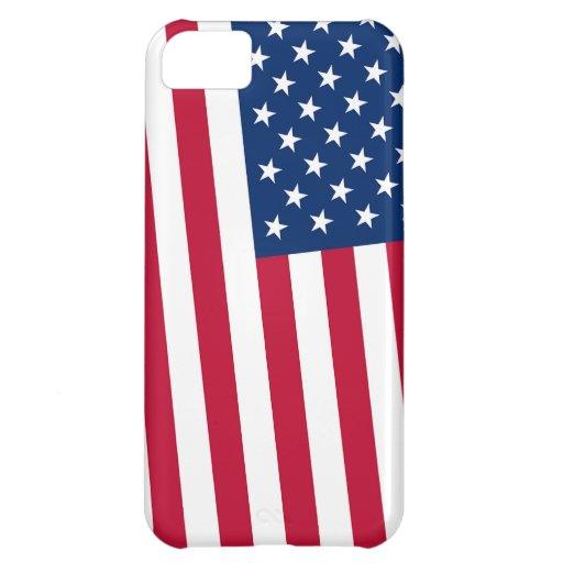 Bandera de Estados Unidos los E.E.U.U. Funda iPhone 5C