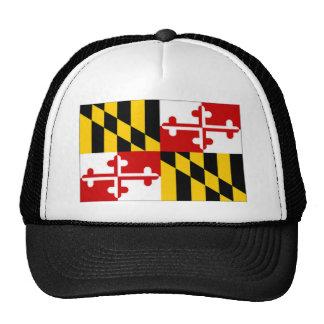 Bandera de Estados Unidos Maryland Gorras De Camionero