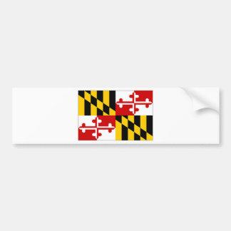 Bandera de Estados Unidos Maryland Pegatina Para Auto