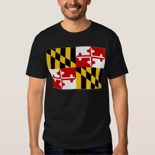 Bandera de Estados Unidos Maryland Polera