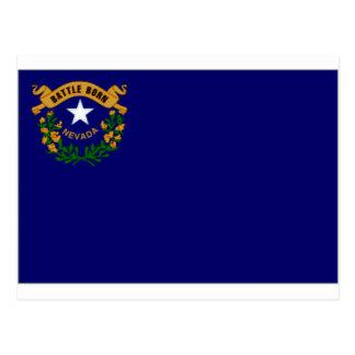 Bandera de Estados Unidos Nevada Postal