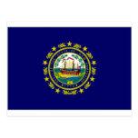 Bandera de Estados Unidos New Hampshire Postal