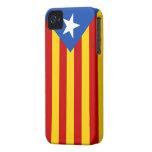 Bandera de Estelada Case-Mate iPhone 4 Fundas