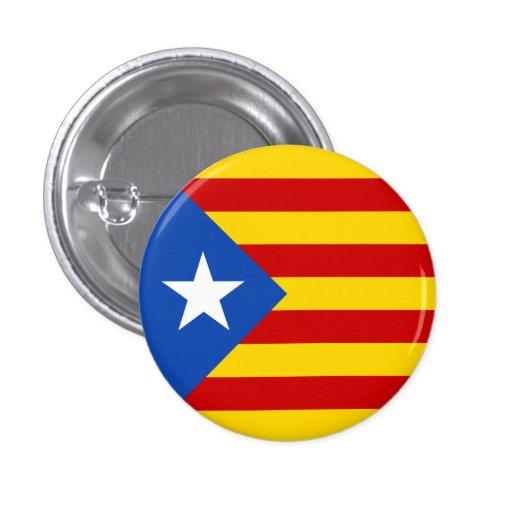 Bandera de Estelada Pin Redondo De 1 Pulgada